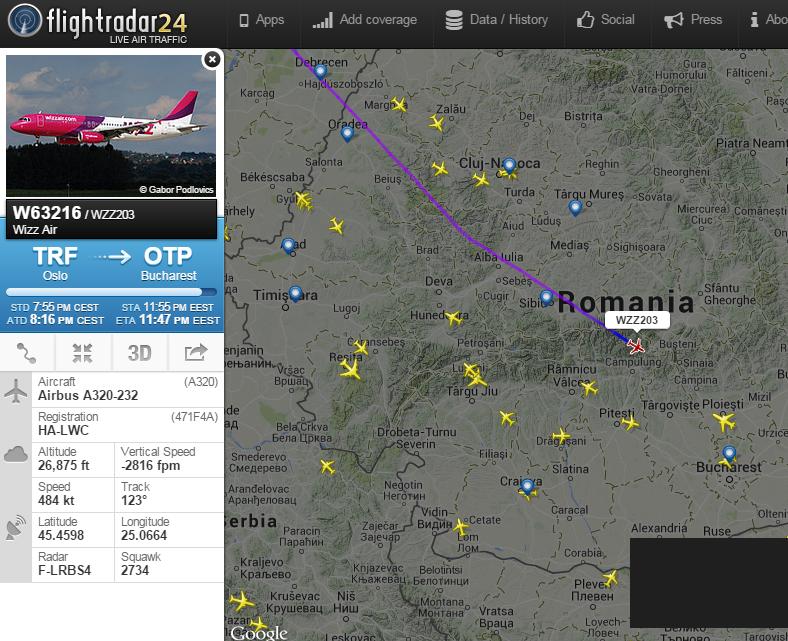 flightradar24-monitorizare-zboruri-avioane-romania-2015