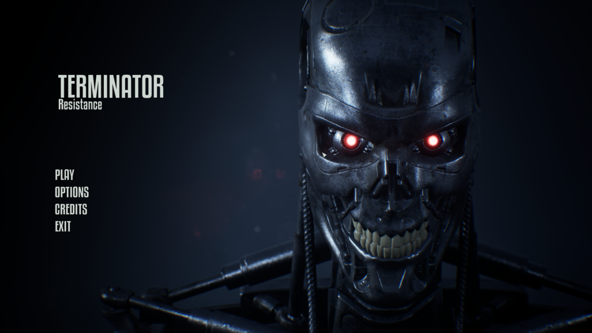 Terminator Resistance load screen